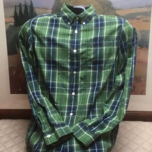 Men's Eddie Bauer Plaid Long Sleeve Shirt